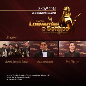 Show Troféu Louvemos o Senhor 2015