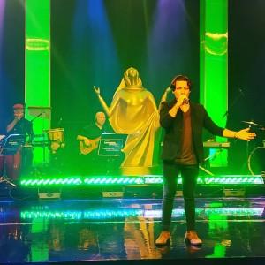 Thiago Brado no Show Destaques Troféu Louvemos o Senhor 2018