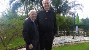 Monsenhor Jonas Abib e Padre Eduardo Dougherty